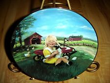 COUNTRY COMPANIONS Country Kisses Little Farmhands Donald Zolan Farm Puppy Plate