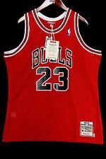 100% Authentic Michael Jordan Mitchell Ness 88 89 The Shot Bulls Jersey 52 2XL
