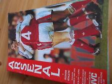 10.3.1992 Arsenal v Oldham Athletic programme Division One