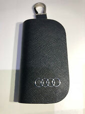 Leather Key Holder Case Remote Cover Wallet With Key Chain for Audi A Q S RS R