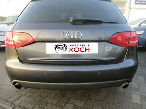 Stoßstange hinten Audi A4 B8 8K Avant 2008-2011 LAVAGRAU LZ7L Stoßfänger PDC