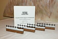 "*New* Dept 56-Heritage Village ""Churchyard Fence Extensions"" Set Of 4 #58076 Nib"