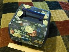 '90s Makeup_Cosmetic ~Floral Fabric~ Carrying Case (SASSABY) Multi-Storage Ltd