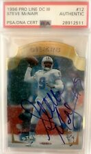 Steve McNair 1996 #12 authentic PSA certified (Titans, Oilers) 🔥🔥