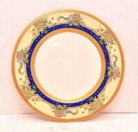Lenox Antique Dinner Plate Ornate X94 Blue & Gold Peacock 1920s Multiple Availab