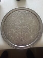 Silver Plated Plate Of England