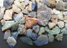 Lightning Ridge Opal Rough Parcel  Green Blue Natural Solid Lapidary Specimen