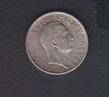 1937 Albania. 1 FR.AR. Silver coin 5 gr Rare.  See the Picture.   108