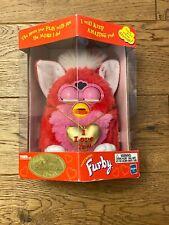 "VTG NIB '99 Limited Ed Valentine's Day Pink ""I Love You"" Furby Factory Sealed"