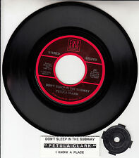 "PETULA CLARK  Don't Sleep In The Subway & I Know A Place 7"" 45 rpm record NEW"