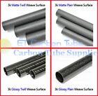 3K Carbon Fiber Tube OD10mm 15mm 20mm 25mm 30mm 35mm 40mm 50mm 60mm x1000mm Long