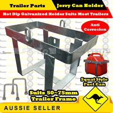 20L Hot Dip Galvanized Jerry Can Holder suits Squat Style Fuel Can