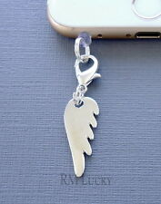 Anti Dust plug charm Angel wing proof ear cap jack For cell phone  c34