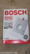 Genuine Bosch vacuum cleaner EGAfilt SuperTEX Type G 462544 BBZ51AFG2 Vacuum bag