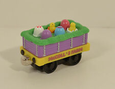 "2002 McColl's Farm Happy Easter Egg 2.5"" Train Car Thomas The Tank Engine"