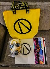 Borderlands 3 Swag Bag Tote, Art Prints, and Mask PAX West 2019