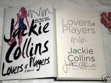 LOVERS & PLAYERS by JACKIE COLLINS **SIGNED**