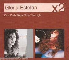 GLORIA ESTEFAN - Cuts Both Ways/Into The Light (UK 28 Tk 2007 Twin CD Album Set)