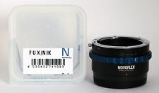 Novoflex adaptador Fux/Nik Nikon en Fuji X cámaras Fux/Nik ***