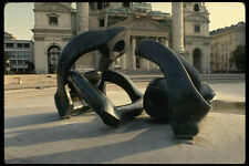 470079 Bronze Statue Hill Arches By Moore Vienna Austria A4 Photo Print