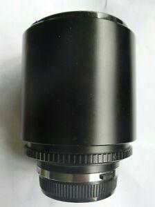 Tokina 500mm Mirror Lens Olympus OM Mount Made In Japan