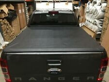 FORD RANGER AND RAPTOR DUAL CAB Clip On Soft Cover Tonneau Cover 2011 to Current