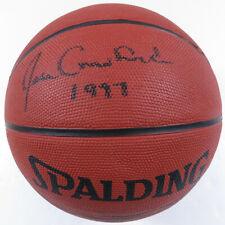 Joan Crawford Autographed Signed Spalding HOF 1997 Basketball JSA LOA