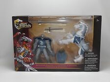 True Legends 2014 Toys R Us Action Figure Lancelot Sleet Knight Horse