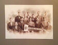 Large antique photograph - Iota Alpha Omicron fraternity