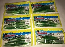 "Saltwater Assassin Lures SW Shad 5"" 8ct Chart. Pepper (6pks) 48ct N All  Lot New"