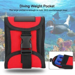 Sacca pesata per tasca per cintura da sub con cintura per pesi e immersioni con