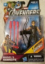 Marvel's HAWKEYE  #13 Movie Series with 3 Launching Arrows. Action Figure