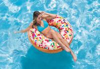 Intex  Schwimmreifen Sprinkle Donut Tube 56263np