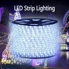 LED Rope Strip Lights 164ft/50m 36LEDs/M Outdoor Lighting White String Hanging