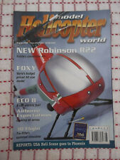 Model Helicopter World Magazine August 2000 used, in good condition