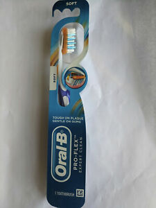 2 PACK Oral-B Pro-Health Clinical Pro-Flex Soft Toothbrush