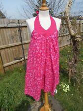 GEORGE cerise rose Style Liberty Print Summer floral dress UK 10 BNWT 100% coton