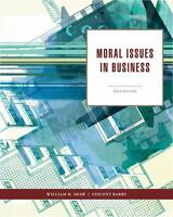 Moral Issues in Business 12th Edition by William H. Shaw  (Author), Vincent Barr