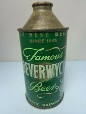 Beverwyck Irtp Since 1845 Cone Top Beer Can #152-18 Albany, New York