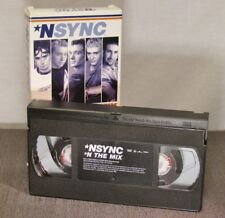 NSYNC 'N THE MIX: THE OFFICIAL HOME VIDEO VHS VIDEO TAPE