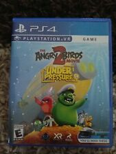 The Angry Birds 2 Movie VR: Under Pressure Sony PlayStation 4 played one psvr