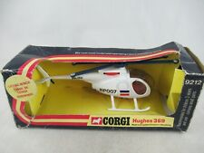 Corgi 9212 Hughes 369 Police Helicopter Dutch Politie