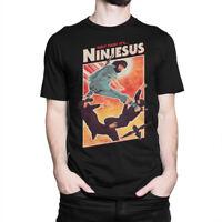 Ninjesus Funny T-Shirt, Ninja Jesus Men's Women's Tee, All Sizes