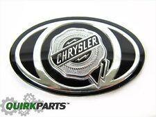 2005-2010 Chrysler 300 S Grille Emblem Decal Badge Silver & Black MOPAR OEM NEW