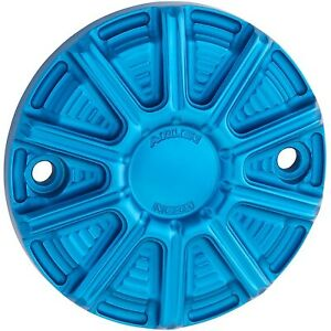 Arlen Ness 700-011 10-Gauge Point Cover Blue Harley Milwaukee Eight 17-20