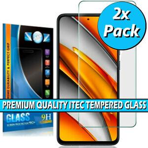 For Xiaomi Poco F3 Genuine Gorilla Tempered Glass Screen Protector Cover