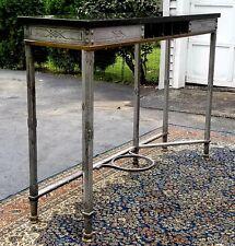 1920's Samuel Yellin Blacksmith Bank Table Longmeadow Ma
