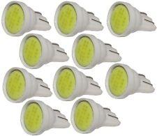 10x ampoule T10 W5W 12V LED COB 2W blanc veilleuses éclairage intérieur plaque