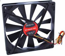 Evercool EC14025L12EA 140mm Slow Speed Fan,3Pin,1200RPM