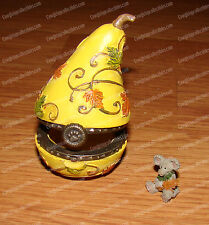 Aubrey's Gourd with Oakley McNibble (Boyds by Enesco, 4035823) Treasure Box